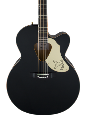 Gretsch G5022CBFE  Rancher Black Falcon Jumbo Cutaway Acoustic Electric