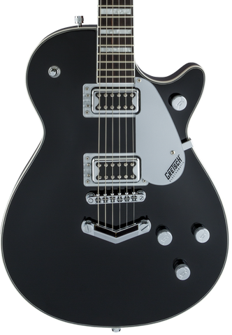 "Gretsch G5220 Electromatic Jet BT Single-Cut with ""V"" Stoptail Black"