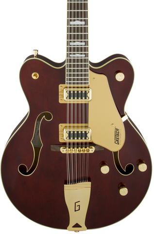 Demo Gretsch G5422G-12 Electromatic Hollow Body Double-Cut 12-String w/Gold Hardware Walnut Stain