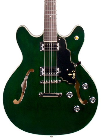 Guild Starfire IV ST Maple Emerald Green w/case
