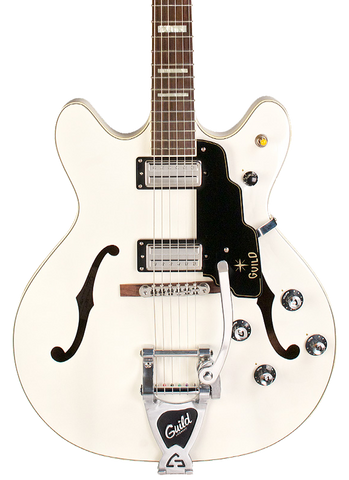 Guild Starfire V White w/case