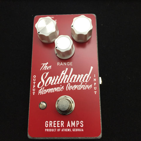 Greer Amps Southland Harmonic Overdrive Red