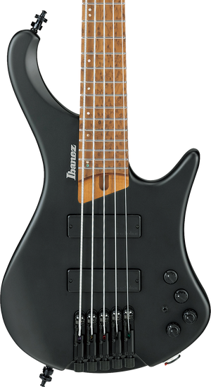 Ibanez  EHB1005 Bass Workshop 5-String Bass Black Flat w/bag