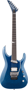 Jackson Limited Edition Wildcard Series Soloist Arch Top Extreme SL27 EX Blue Sparkle w/soft case