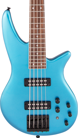 Jackson X Series Spectra Bass SBX V Electric Blue