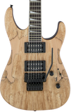 Jackson X Series Soloist SLX Dark Walnut Fingerboard Spalted Maple Natural
