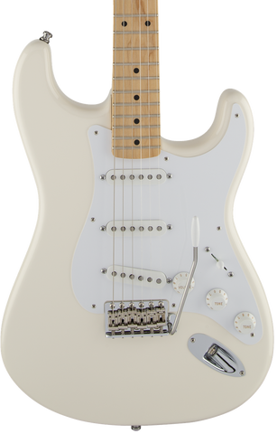 Fender Jimmie Vaughan Tex-Mex Strat MP Olympic White w/bag