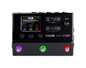 Line 6 HX Stomp Compact Floor Processor Black