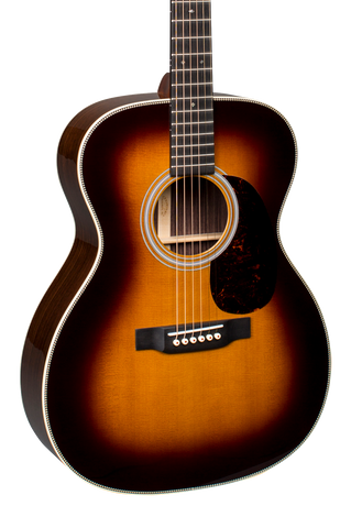Martin 000-28 Sunburst w/case 2018