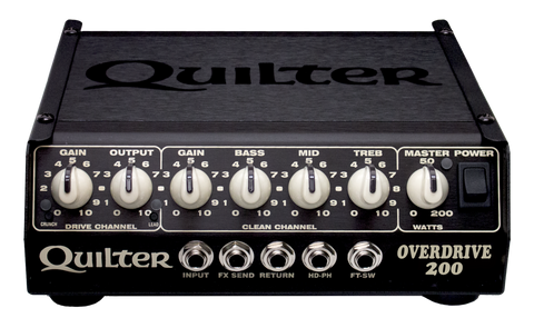 Quilter Overdrive-200 Head