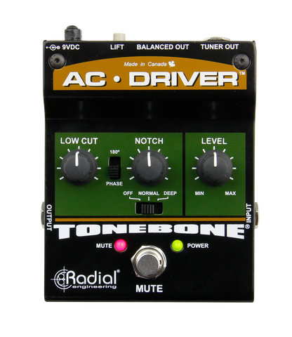 Radial Tonebone AC Driver Acoustic Guitar Preamp