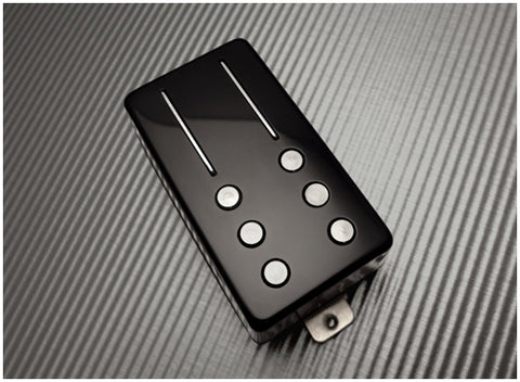 Railhammer ALG-BR-bk Alnico Grande Bridge Pickup Black