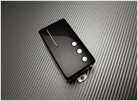Railhammer NU-BR-bk Nuevo 90 Humcutter Bridge Pickup Black
