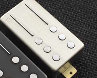 Railhammer RG-NK-bni Reeves Gabrels Signature Neck Pickup Brushed Nickel