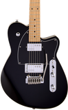 Reverend Cross Cut W w/Wilkinson Trem Midnight Black
