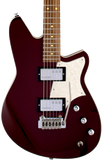 Reverend Descent W Baritone electric guitar in Medieval Red Tone Shop Guitars Dallas TX