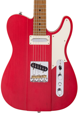 Reverend Greg Koch Signature Gristlemaster Wow Red