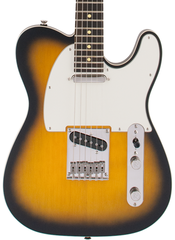 Reverend PA2T Pete Anderson Eastsider T Satin Tobacco Burst