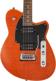 Reverend Reeves Gabrels Signature Satin Orange Flame Maple