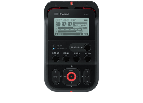 Roland R-07 High-Resolution Audio Recorder
