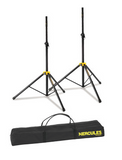Hercules SS200BB 2 Speaker Stands w/bag