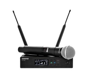 Shure QLXD24/SM58-G50 Digital Wireless Handheld Microphone System