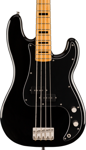 Squier Classic Vibe '70s Precision Bass Maple Fingerboard Black