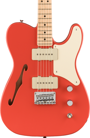 Squier Paranormal Carbronita Telecaster Thinline MP Fiesta Red