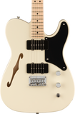 Squier Paranormal Carbronita Telecaster Thinline MP Olympic White