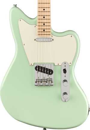 Squier  Paranormal Offset Telecaster Maple Fingerboard Surf Green