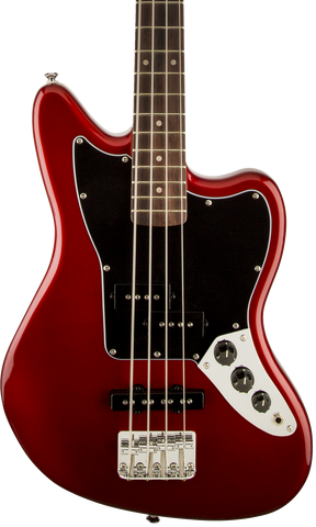 Squier Vintage Modified Jaguar Bass Special SS Laurel Fingerboard Candy Apple Red