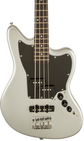 Squier Vintage Modified Jaguar Bass Special SS Laurel Fingerboard Silver