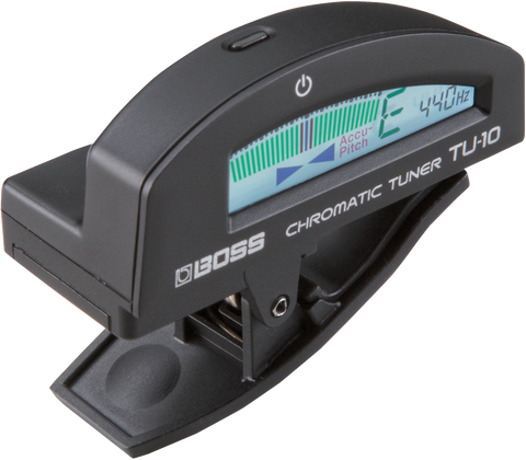 Boss TU-10-BK Clip On Chromatic Tuner Black