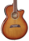 Takamine Thinline TSP138CTB Tea Burst w/softcase
