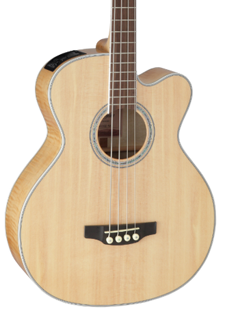 Takamine GB72CE Natural Acoustic Electric Bass