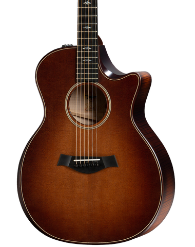 Taylor  Builder's Edition 614ce V-Class Bracing  Wild Honey Burst w/case