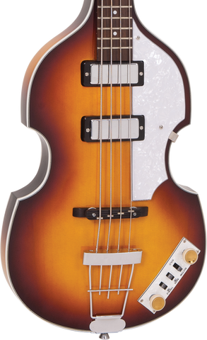 Vintage VVB4SB ReIssued Violin Bass Antique Sunburst w/case