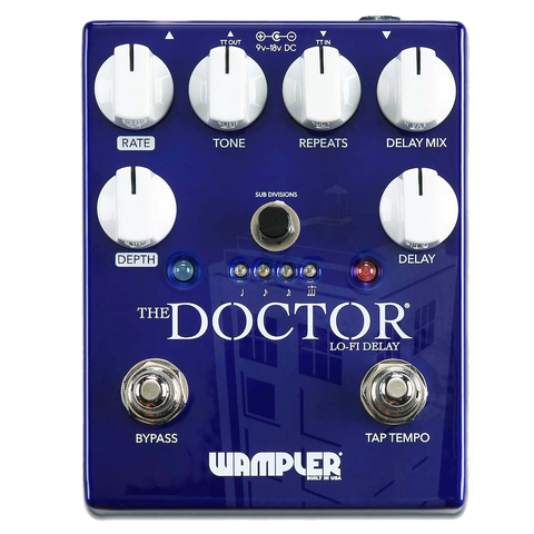 Wampler The Doctor LoFi Delay