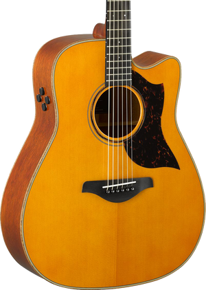 Yamaha A3M ARE Dreadnought Cutaway Vintage Natural