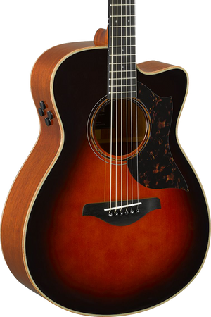 Yamaha AC3M ARE Concert Cutaway Tobacco Brown Sunburst