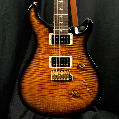 PRS Paul Reed Smith Wood Library Custom 24 10 Top Gen 3 Faded Copperhead Smokeburst w/case
