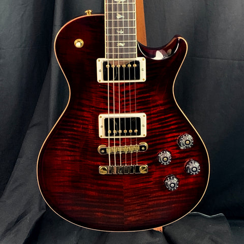 PRS Paul Reed Smith McCarty SC 594 10 Top Fire Red Burst w/case