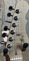G&L USA Doheny Empress Jet Black w/case 6.75lbs