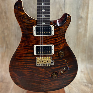 PRS Paul Reed Smith Custom 24-08 10 Top Orange Tiger Hybrid Package w/case