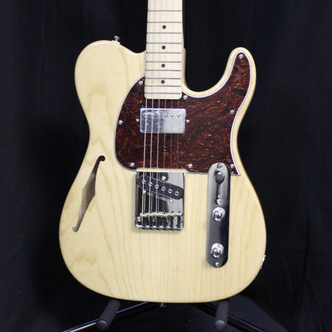G&L Tribute ASAT Classic Bluesboy Semi-Hollow Maple Natural