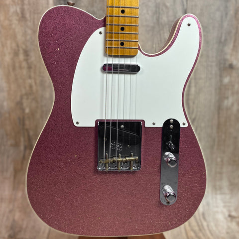 Fender Custom Shop Limited Edition '50's Tele Custom Journeyman Relic MP Champagne Sparkle w/case