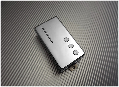 Railhammer CL-NK-ch Cleancut Humcutter Neck Pickup Chrome