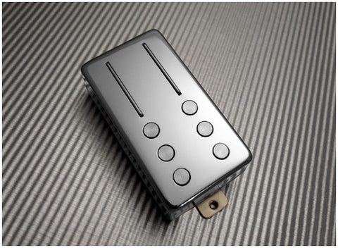 Railhammer HVI-NK-ch Hyper Vintage Neck Pickup Chrome