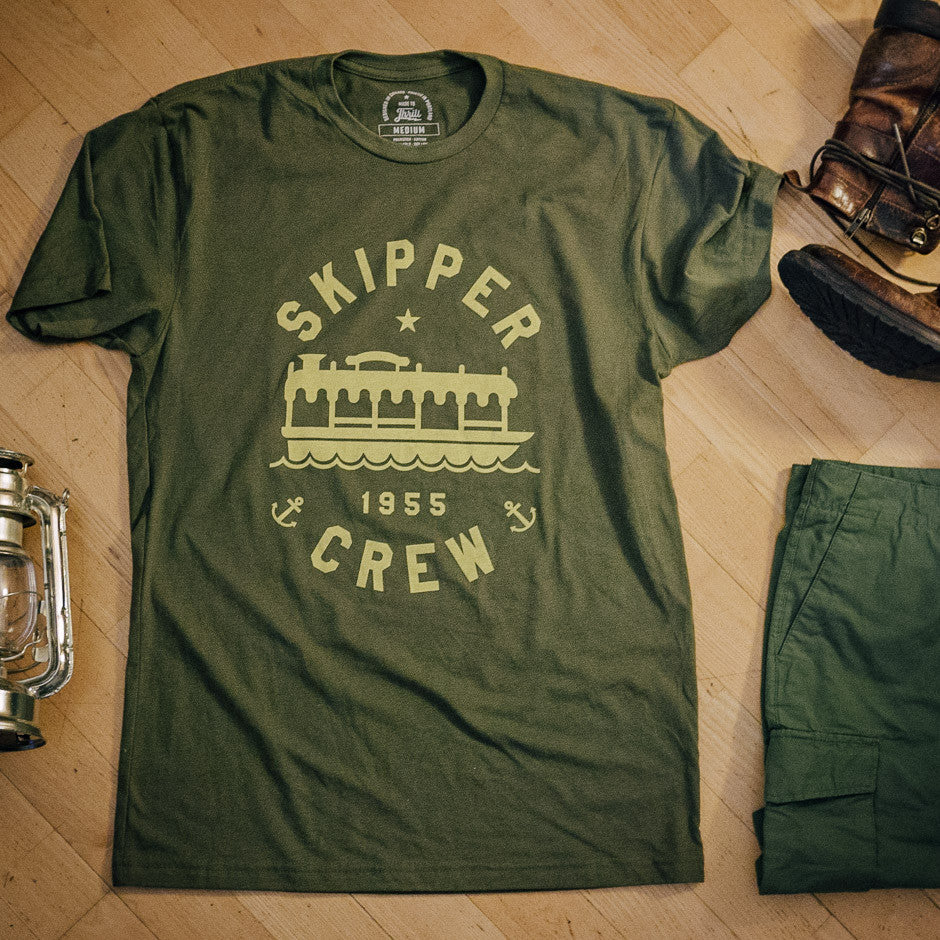 Skipper Crew T-shirt | Laydown