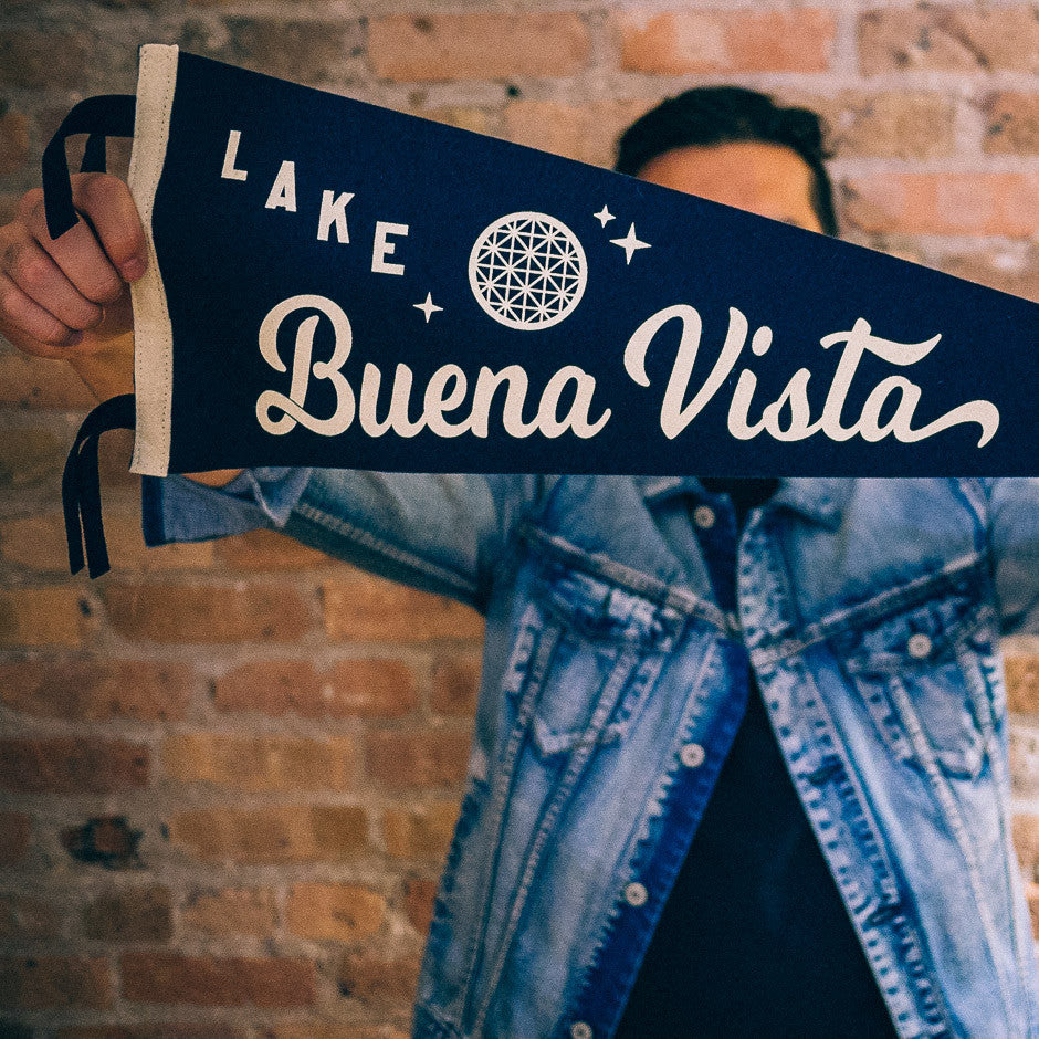 Lake Buena Vista 1982 Pennant | In-Hand